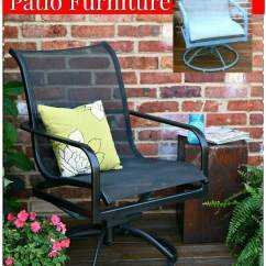 Metal Patio Chair Bar Plans The Easy Way To Paint Furniture Petticoat Junktion Spray Before And After Makeover Project