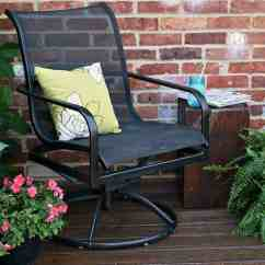 Metal Patio Chair Posture Desk Stool The Easy Way To Paint Furniture Petticoat Junktion