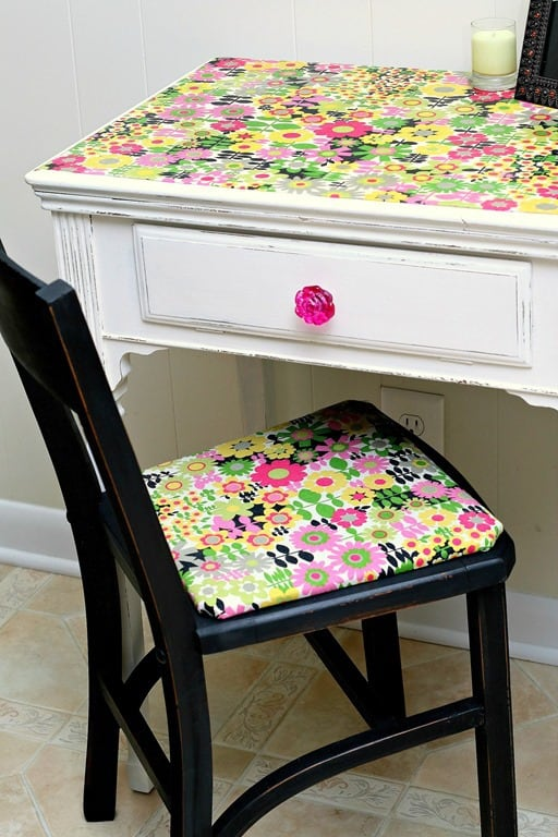 How To Use Mod Podge On Fabric Tutorial Petticoat Junktion
