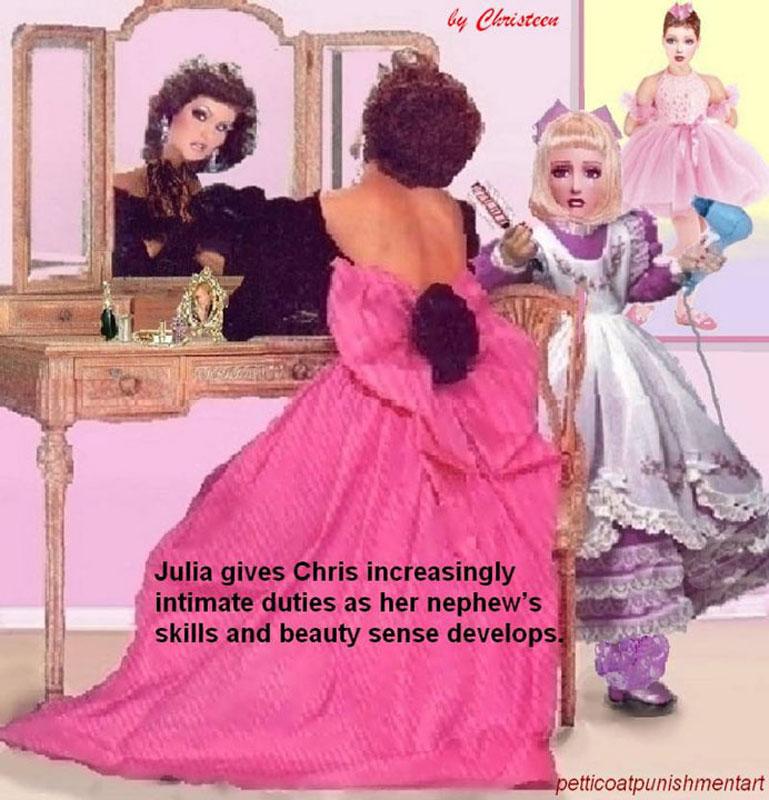 Petticoat Discipline Art Quarterly