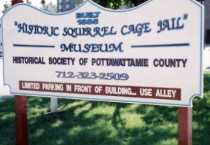 Squirrel Cage sign