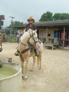 Me on Butterbean for my First Ride