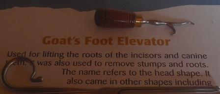 Goat's Foot Elevator