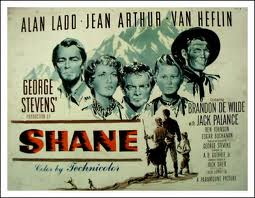 Shane movie poster 2images