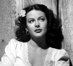 Hedy Lamarr was my model for Molly
