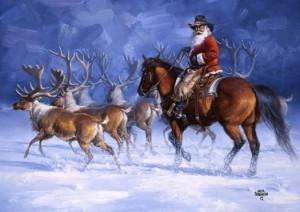 Jack Sorenson The Reindeer Roundup