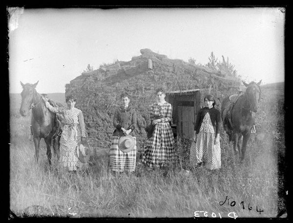 These are the Chrisman sisters, each claimed and proved up on her own homestead. This picture inspired my Wild at Heart series. Or maybe it's more accurate to say it was the seed from which the story grew.