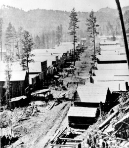 Main Street, Deadwood, SD, 1876