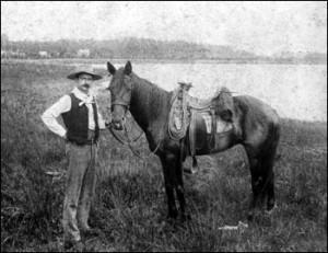 1890's cowboy near Orlando
