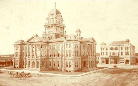 Bell County Courthouse, Belton, Texas, late 19th Century