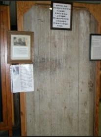 door to cabin