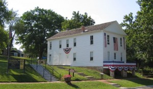 Constitution Hall Lecompton Kansas