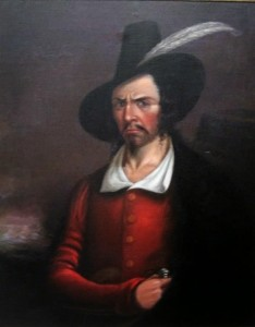 Jean Lafitte, artist unknown courtesy Rosenberg Library, Galveston