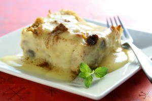 bread pudding dessert