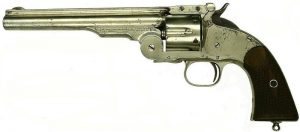1875 Smith & Wessons .45 Schofield (courtesy Bob Adams)