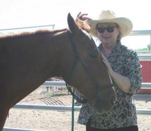 Jodi Thomas horse