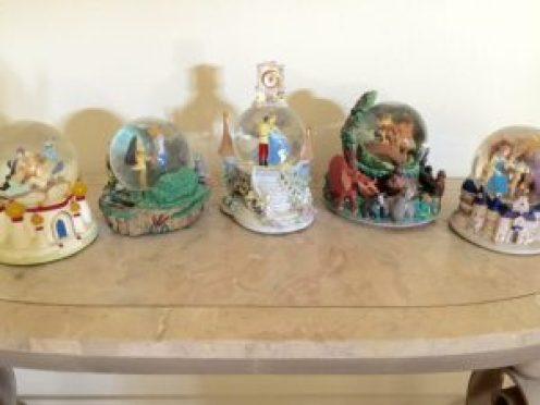 Disney globes