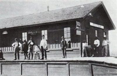 Fairbank_Railroad_Depot_Arizona_Circa_1900