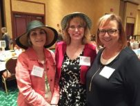 Meeting with other inspie authors - Leann Harris and Kellie Coates Gilbert.
