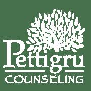 Pettirgru logo white