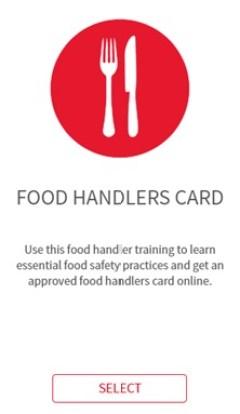 Food Handlers Card