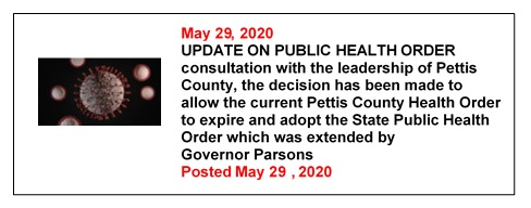 5-29-2020 Update On Public Health Order