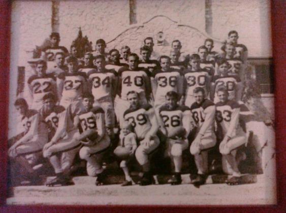 PHS Football 1950s  60s  Pettus Eagle Athletics