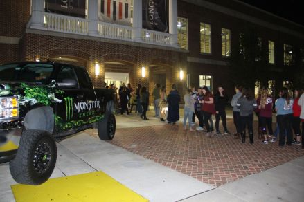 Lancer Productions put on their annual Haunted House at Longwood University on October 27, 2016.