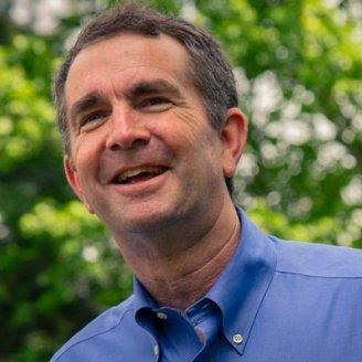 Democratic nominee Ralph Northam