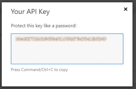 Cara Mengetahui API Key CloudFlare