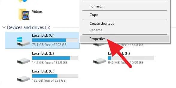 cara defrag Windows 10