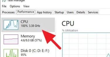 cara mengatasi CPU Usage 100