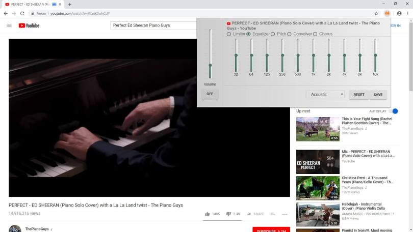Cara Equalizer Youtube