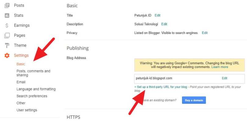 Cara Setting Domain Namecheap ke Blogspot