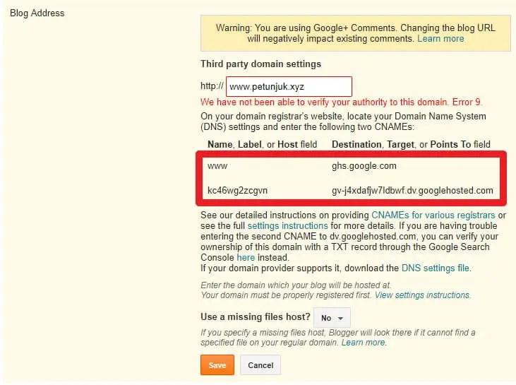 Cara Setting Domain Namecheap ke Blogspot