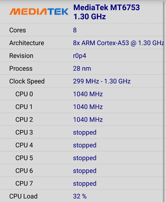 Cara Mengetahui Jenis CPU Android