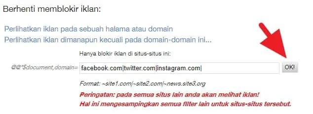 Cara Blokir Iklan Hanya Pada Website Tertentu (SEMUA BROWSER) - Blokir Iklan Website Tertentu 4