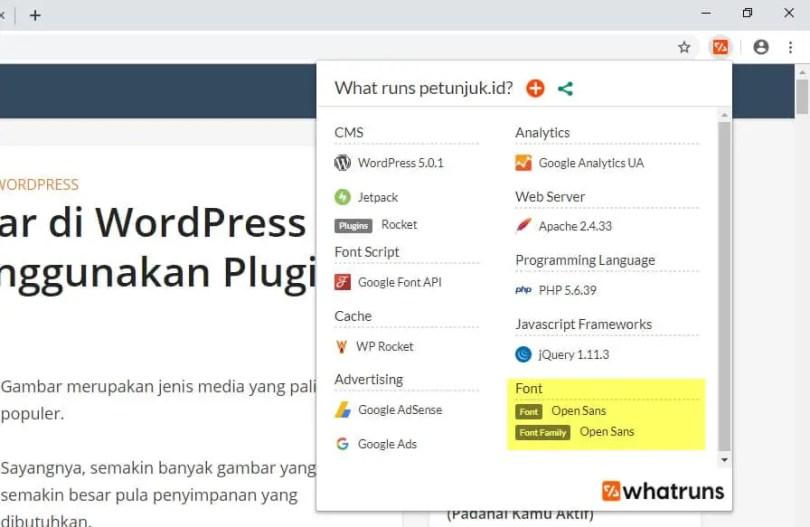 4 Cara Mengetahui Font yang Dipakai Sebuah Website - mengetahui font website 12