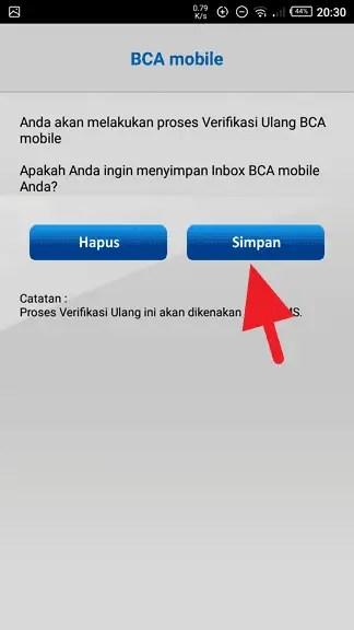 Cara Verifikasi Ulang BCA mobile dengan Benar (10 LANGKAH) 3