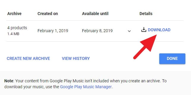 Cara Download Data Google+ Kamu Sebelum Dihapus! 10