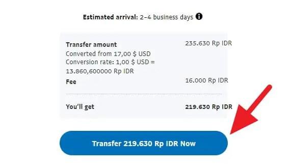 Informasi transfer