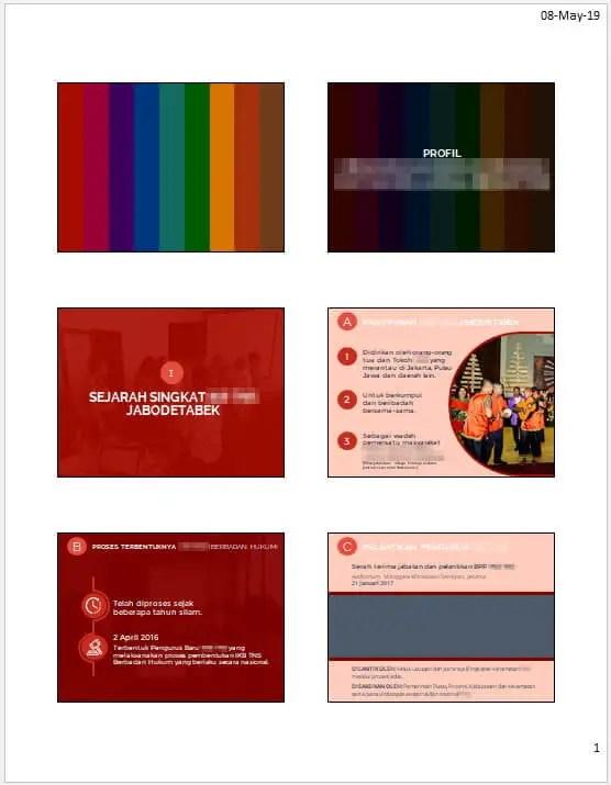 Cara Print Slide PowerPoint agar Hasilnya Rapi: 7 Langkah - Cara Print PowerPoint 7