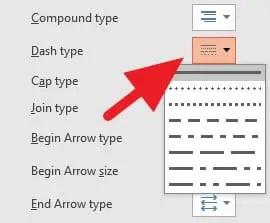 Cara Membuat Garis Titik di PowerPoint (5 LANGKAH) 5