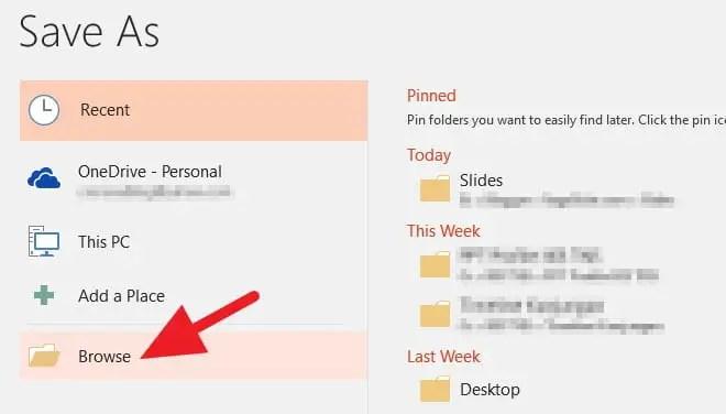 3 Cara Menyimpan File PowerPoint dengan Cepat - Menyimpan PowerPoint 2