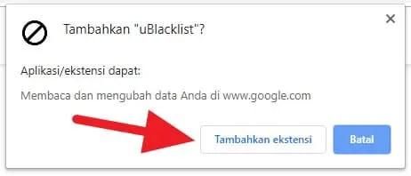 3 Cara Blokir Situs Tertentu dari Hasil Pencarian Google 2