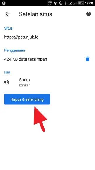 Cara Hapus Cache Website Tertentu di Chrome (Android & PC) - Cara Hapus Cache Website Tertentu 6