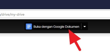Cara Membuka File DOCX di Google Drive & Mengeditnya 2