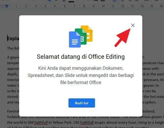 Cara Membuka File DOCX di Google Drive & Mengeditnya - DOCX Google Drive 3