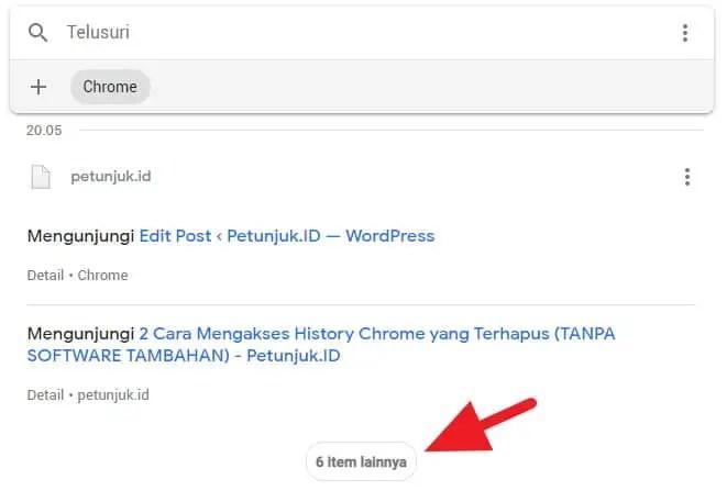 3 Cara Mengakses History Chrome yang Terhapus (TANPA SOFTWARE TAMBAHAN) 2