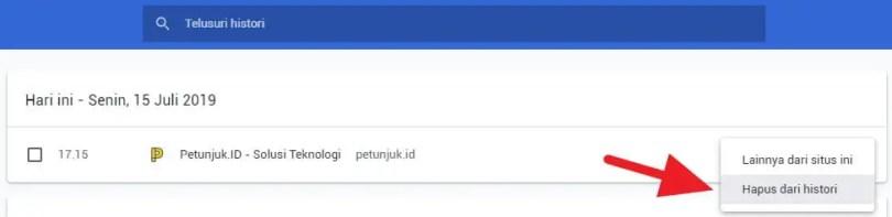 Membersihkan Saran Pencarian di Chrome (PC & ANDROID) - Menghapus Saran Penelusuran Chrome PC 2